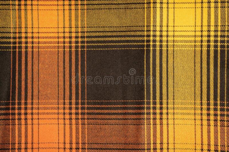 Katoenen van de geruit Schots wollen stofplaid natuurlijke stof Naadloze tegelstextuur voor de achtergrond royalty-vrije stock afbeelding