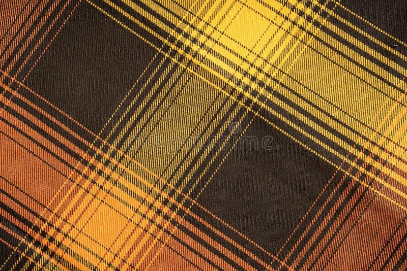 Katoenen van de geruit Schots wollen stofplaid natuurlijke stof Naadloze tegelstextuur voor de achtergrond royalty-vrije stock foto's