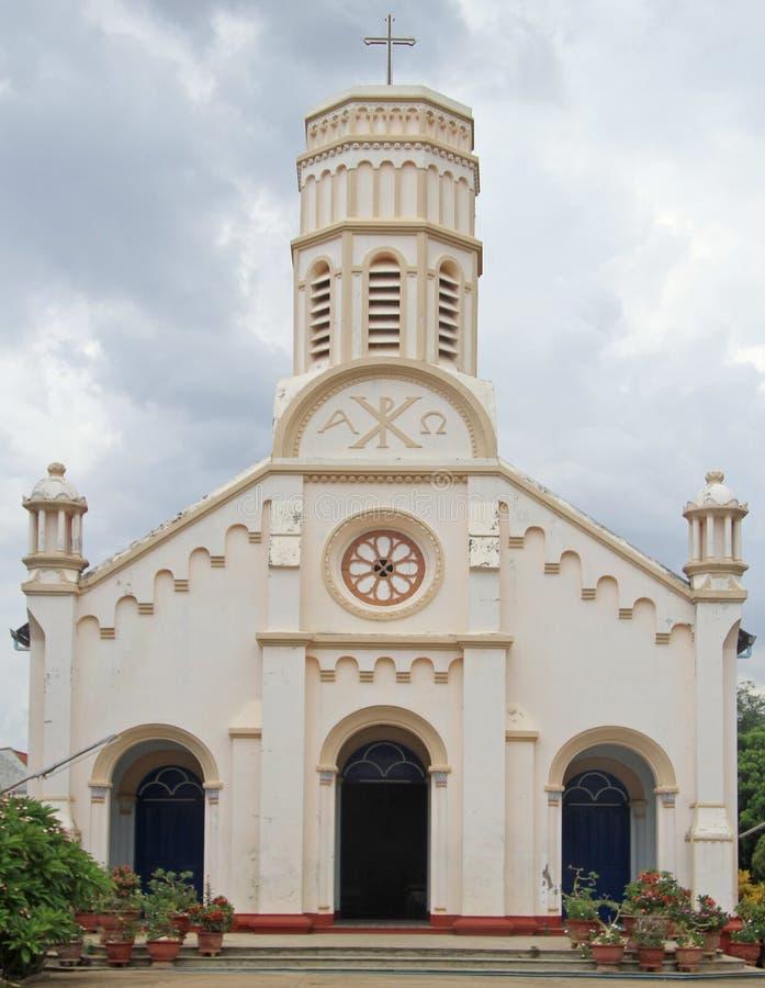 Download Katolicka Katedra W Savannakhet, Laos Obraz Stock - Obraz złożonej z christ, religijny: 57664843