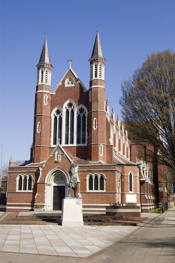 Download Katolsk Domkyrka, Portsmouth Arkivfoto - Bild av vertikalt, landmark: 27284572