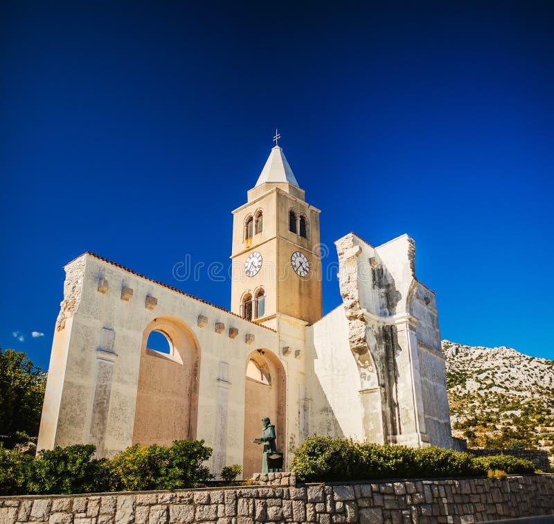 Katolsk kyrka av St Charles Boromejskog royaltyfria foton