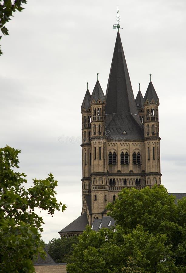 Katolsk kyrka Cologne arkivfoto
