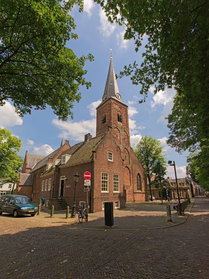 Katolsk kyrka för `-Geertekerk ` i Utrecht arkivbild