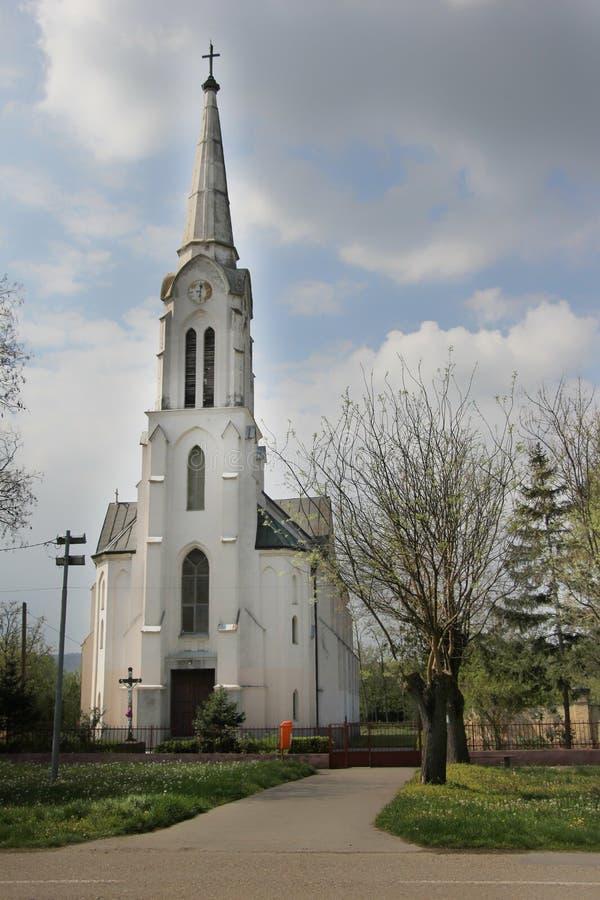 Katolsk kyrka i Ivanovo arkivbild