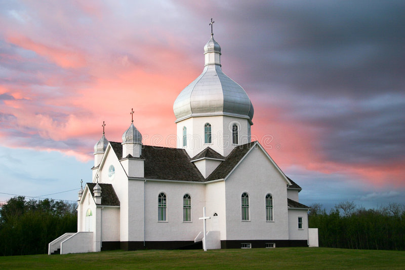 katolsk kyrkaukranian royaltyfri fotografi