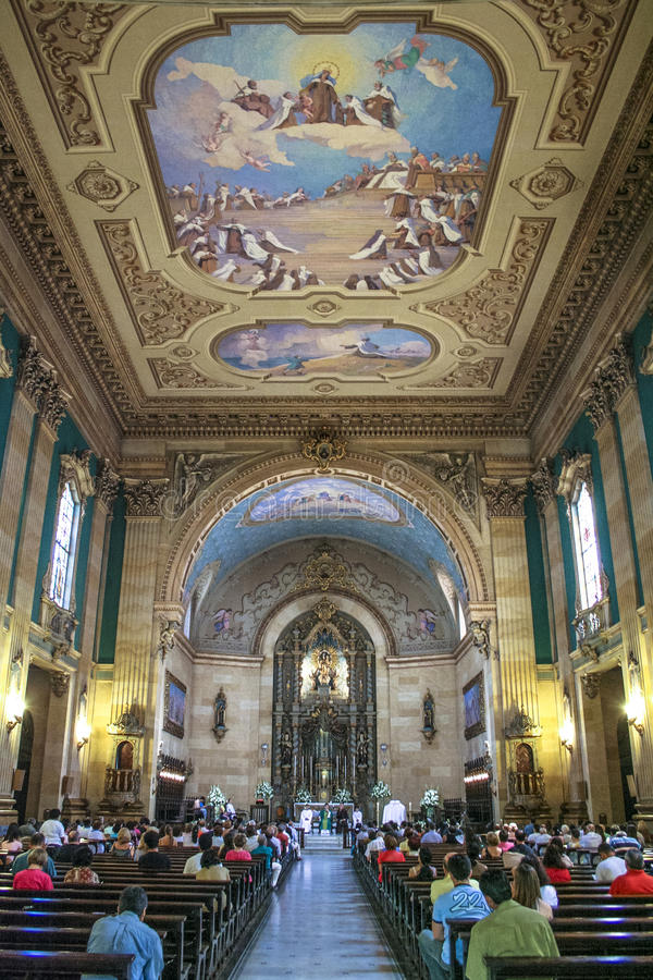 katolsk mass royaltyfri fotografi