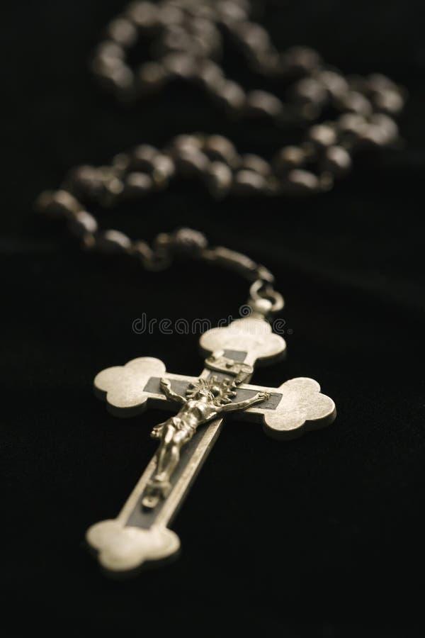 katolsk radband royaltyfri foto