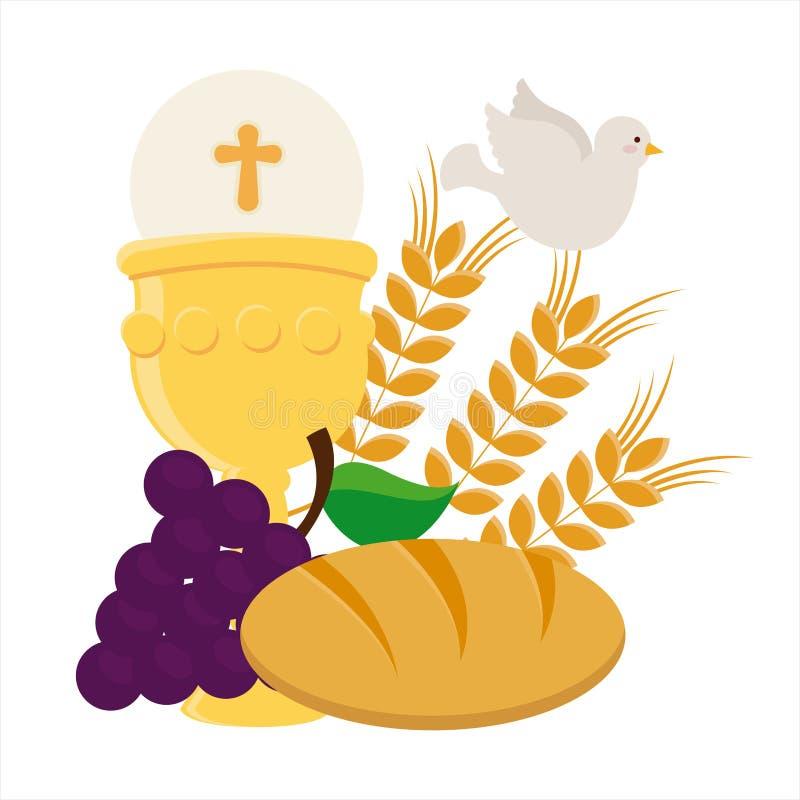 Katolsk religion vektor illustrationer