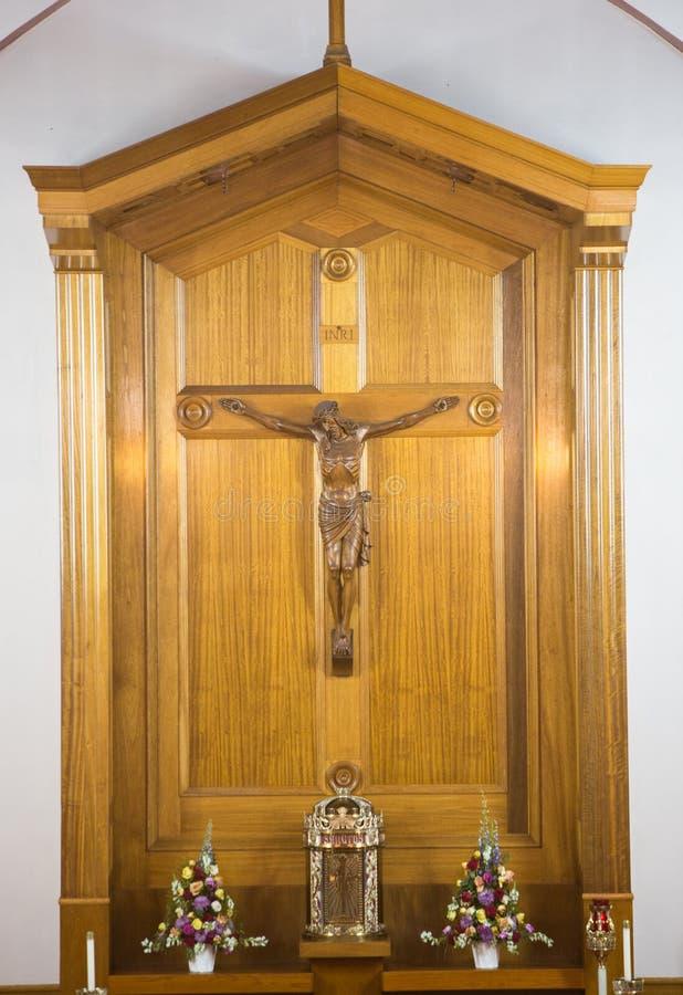 Katolskt klosterbroderkors arkivbild