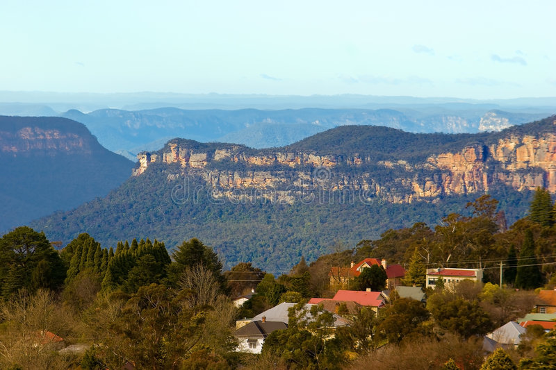 Download Katoomba stock photo. Image of forest, blue, valley, edge - 6852252