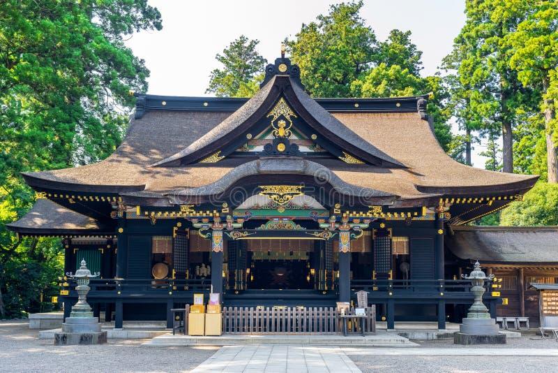Katoriheiligdom in Chiba, Japan royalty-vrije stock foto