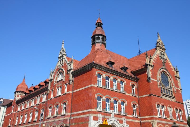 Katowice, Polonia imagen de archivo