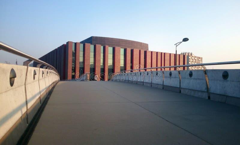 Katowicki, Polska, Październik - 30, 2015: Obywatel Polska Radiowa Symfoniczna orkiestra zdjęcie stock