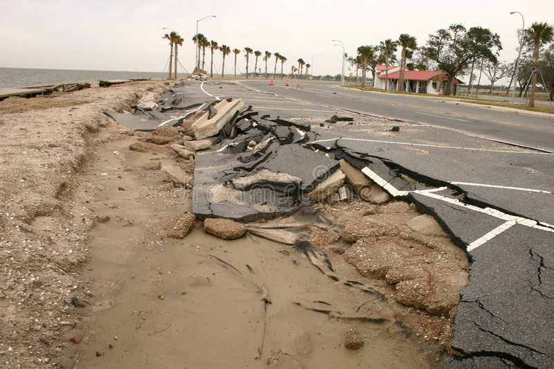Katrina Aftermath royalty free stock photos