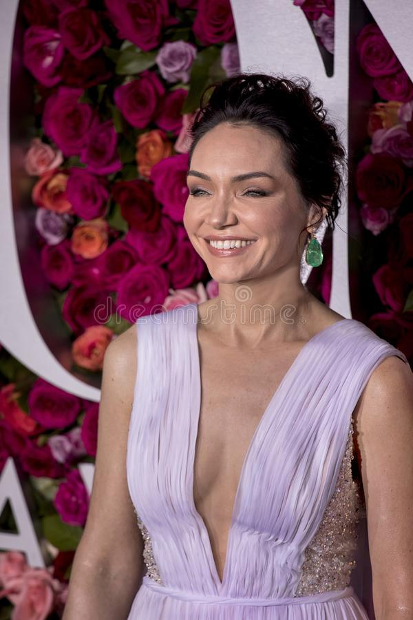 Katrina Lenk chez Tony Awards 2018 photographie stock libre de droits