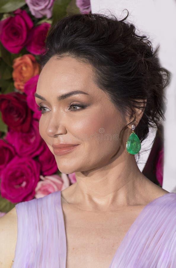 Katrina Lenk chez Tony Awards 2018 image libre de droits