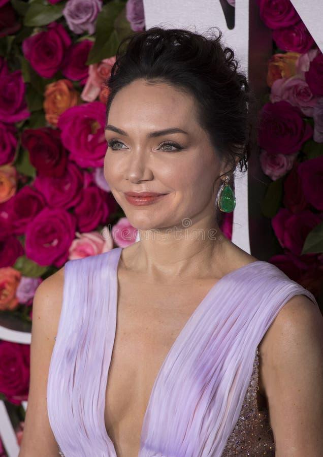 Katrina Lenk en Tony Awards 2018 fotos de archivo libres de regalías