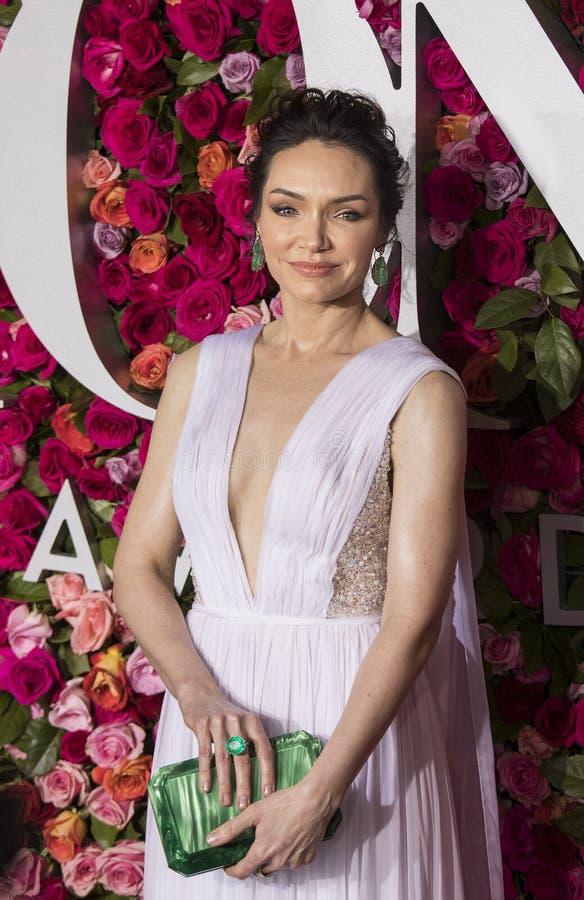 Katrina Lenk at the 2018 Tony Awards royalty free stock image