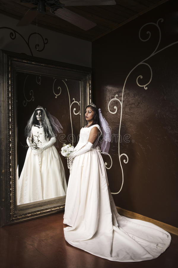 Katrina nuptiale images libres de droits