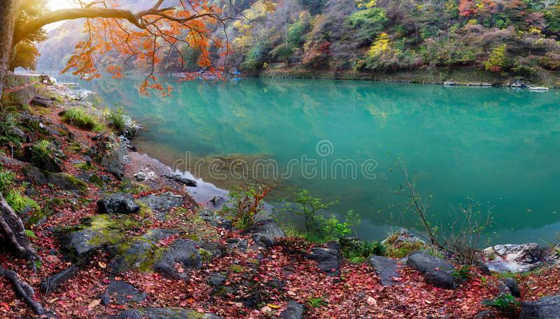 The katsura river stock photo