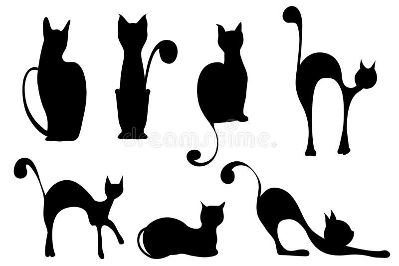 Katten stock illustratie