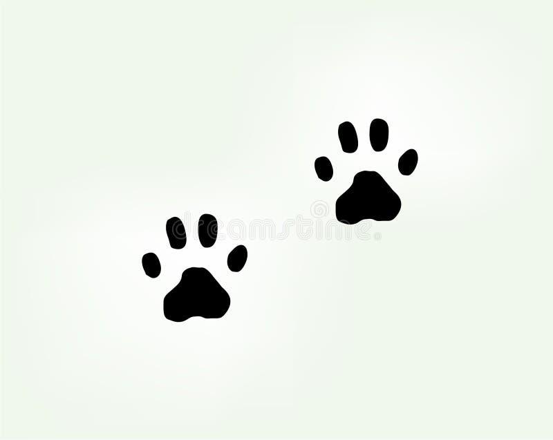 Katten` s poten in vector vector illustratie