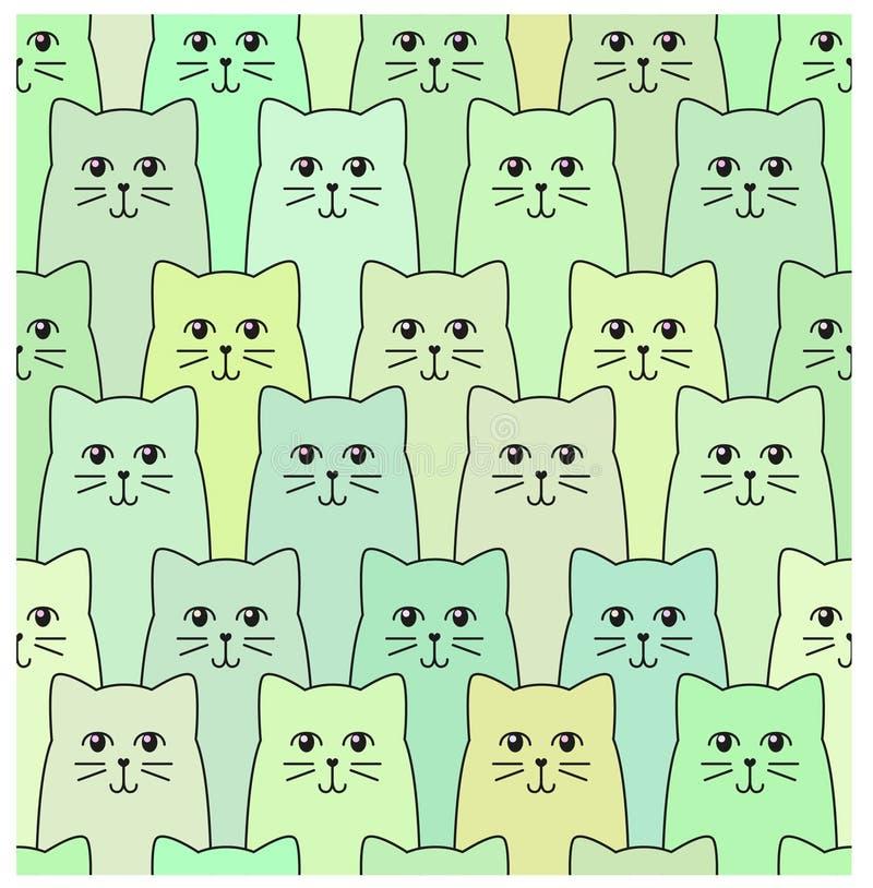Kattenpatroon stock foto