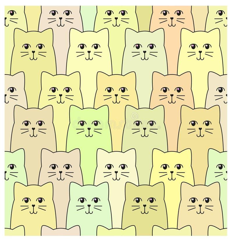 Kattenpatroon stock foto's