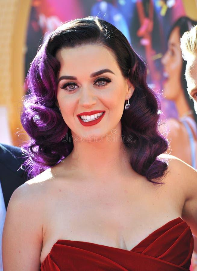 Katy Perry imágenes de archivo libres de regalías