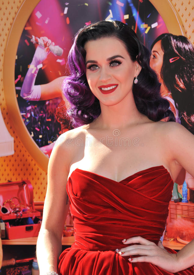 Katy Perry foto de stock royalty free