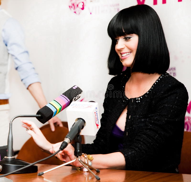 Katy Perry foto de stock royalty free