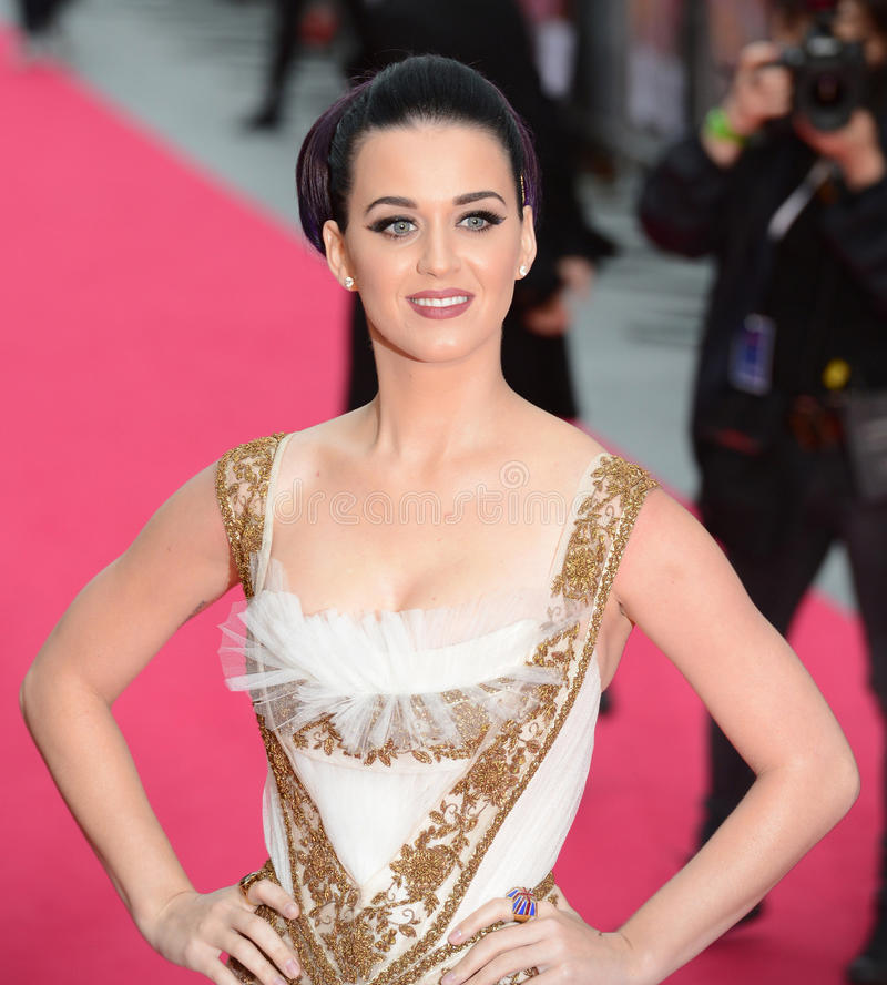 Katy Perry. Attends the : Part Of Me premiere at Leicester Square, London, UK. July 3, 2012. Picture: Catchlight Media / Featureflash royalty free stock images