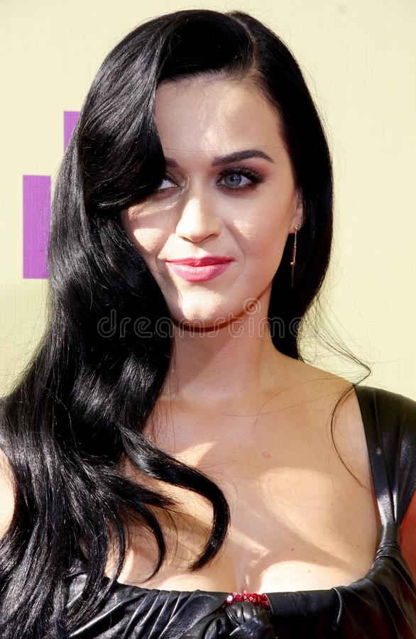 Katy Perry. At the 2012 MTV Video Music Awards held at the Staples Center in Los Angeles, United States on September 6, 2012 stock photos