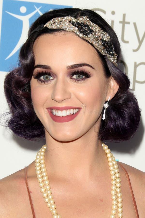 Katy Perry obtient à la ville de l'événement de Bob Pittman d'honneurs de la musique de l'espoir et du groupe d'industrie du spect photos stock