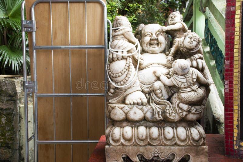 Katyayana of van Gautama Buddha of van Phra sangkatjay gelukkig en glimlach Boedha royalty-vrije stock afbeelding