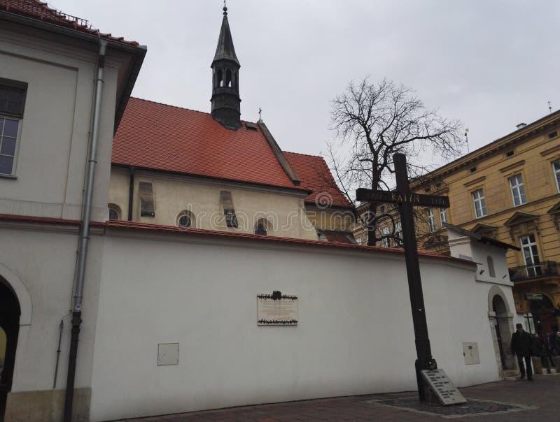Katyn masakra w Krakow, Polska obraz royalty free
