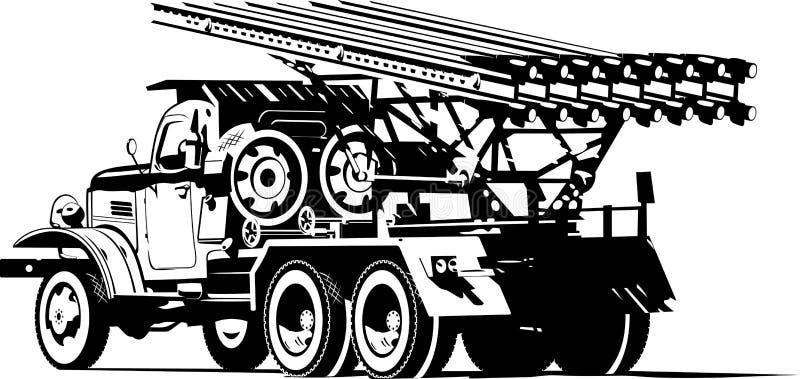Katyusha libre illustration