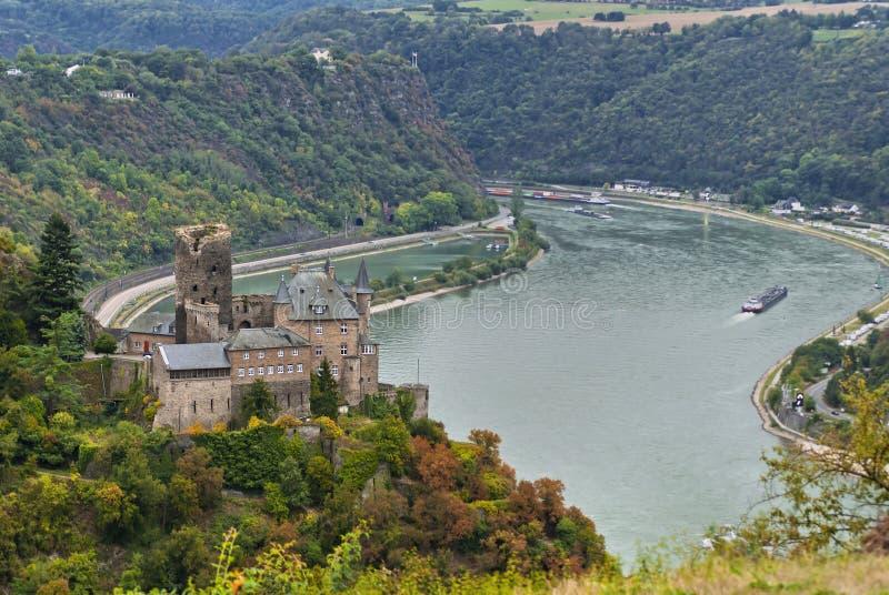Katz Schloss stockbilder