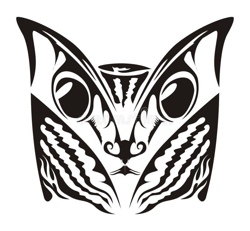 Katze-Tätowierung Lizenzfreies Stockfoto