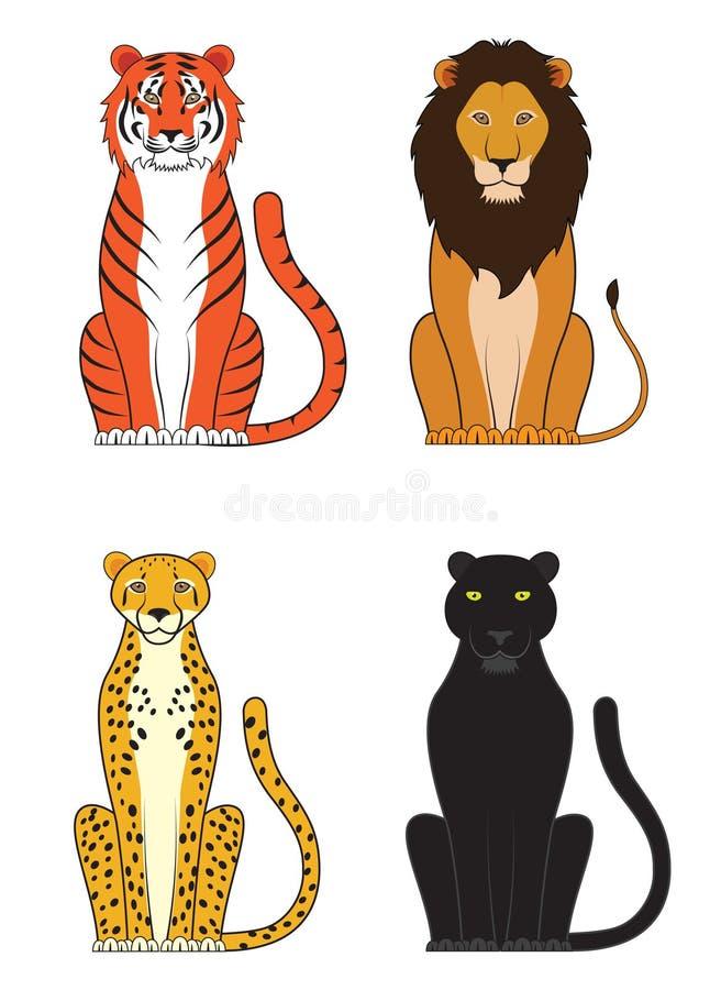 Katzen lizenzfreie abbildung