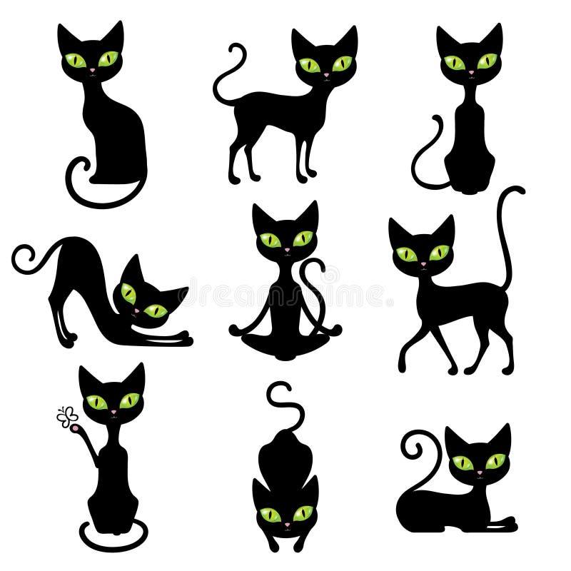 Katzen-Ikonen-Satz vektor abbildung