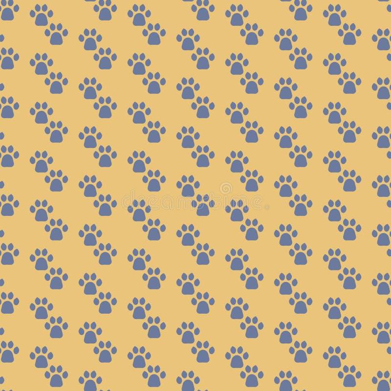 Katzen Paw Print lizenzfreie abbildung