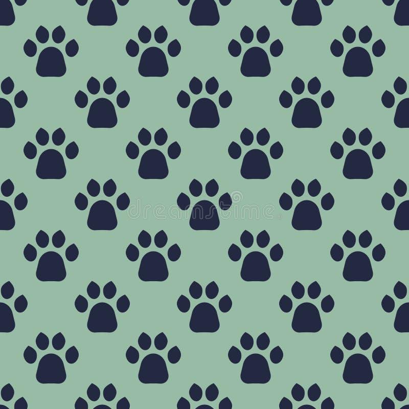 Katzen Paw Print stock abbildung