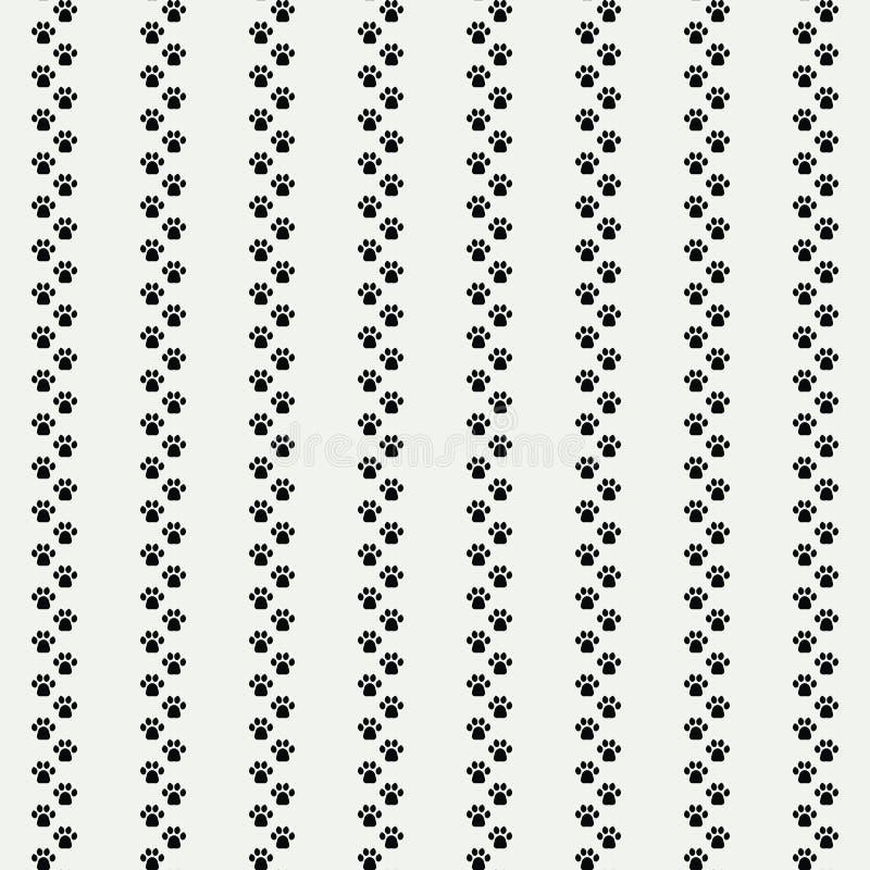 Katzen Paw Print vektor abbildung