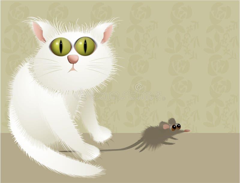 Katzenjäger lizenzfreie abbildung