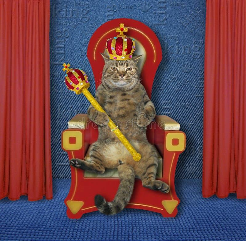 König Auf Thron