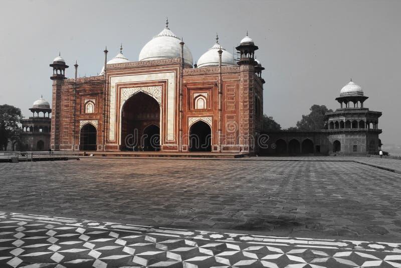 Kau Ban Mosque, bei Taj Mahal lizenzfreie stockfotografie