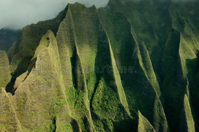 kauai ακτών napali στοκ φωτογραφία