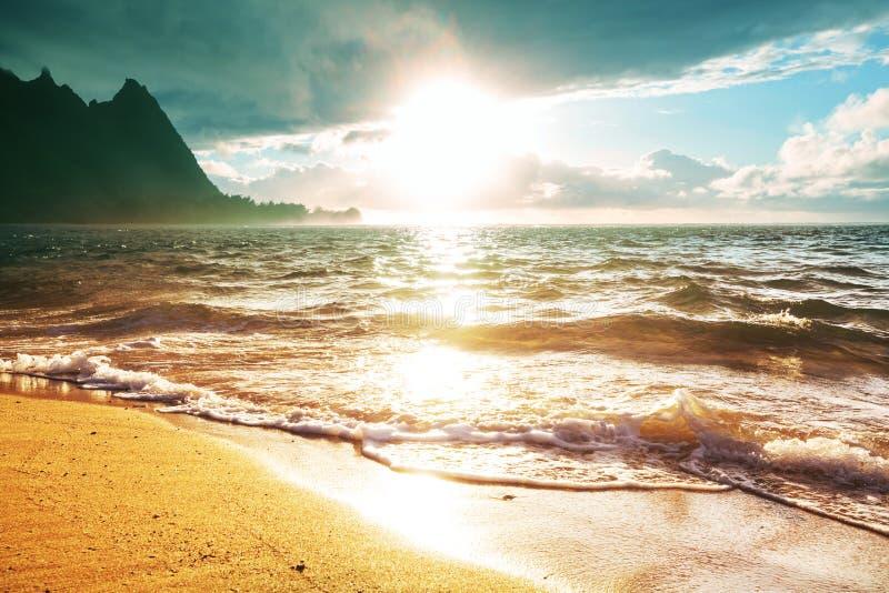 kauai fotografia stock libera da diritti