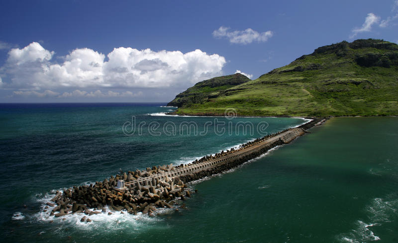 Kauai fotografie stock